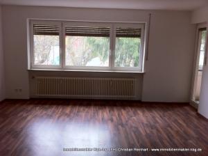 3 Zi. Wohnung mit Balkon in Weiherhaus