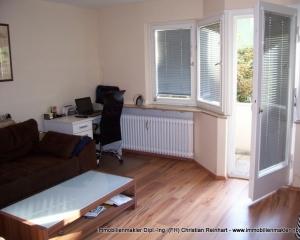 2 Zi.- Wohnung mit Balkon im Niebelungenviertel