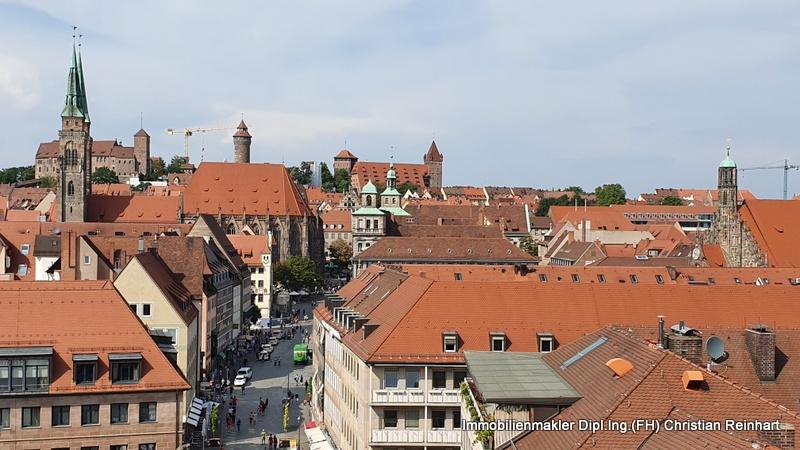 Nürnberg Altstadt mit Burg