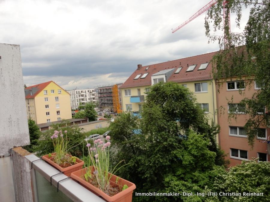 Vermietete 2 zimmer wohnung mit balkon in maxfeld for 2 zimmer wohnung nurnberg
